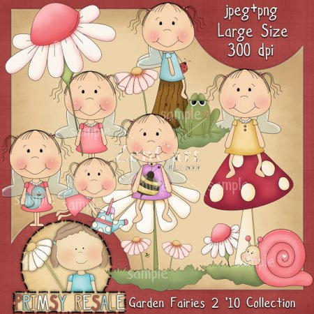 Garden Fairies 2 '10 Collection