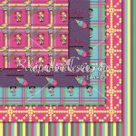 Ice Cream Social Exclusive 12x12 Background Papers
