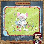 Christmas Mouse Pad Printable