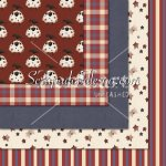 Americana '10 Exclusive - 12x12 Background Papers