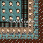 Coffee House 1 Exclusive 12x12 Background Papers