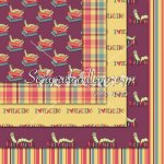 Bookworm Girls '10-12x12 Background Papers