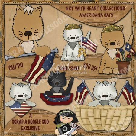 Americana Cats Exclusive