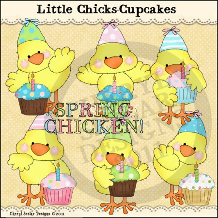 Little Chicks-Cupcakes