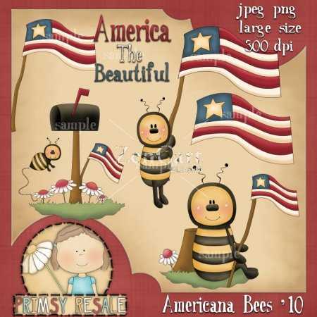 Americana Bees '10 Collection