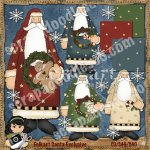 Folkart Santa Exclusive