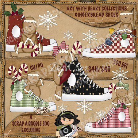 Gingerbread Shoes Exclusive