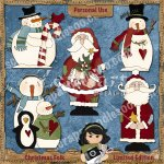 Christmas Folk Limited Edition