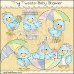 Tiny Tweets-Baby Shower