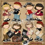 Snicklefritz Pirate Kids Limited Edition