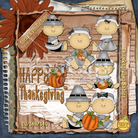 Thanksgiving Babies 3 - Click Image to Close