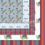 Bookworm Boys '10-12x12 Background Papers