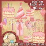 Girls Birthday Wishes
