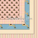 Redone Bees '10-2 Background 12x12 Papers