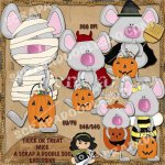 Trick or Treat Mice Exclusive