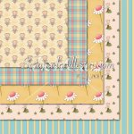 Garden Fairies 1-12x12 Background Papers