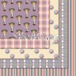 Girls Crosses -Purple/ Blue/ Pink 12x12 Backgrounds