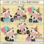 Cute Little Cow Birthday