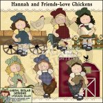 Hannah and Friends Love Chickens