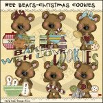 Wee Bears Christmas Cookies