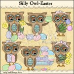 Silly Owls-Easter