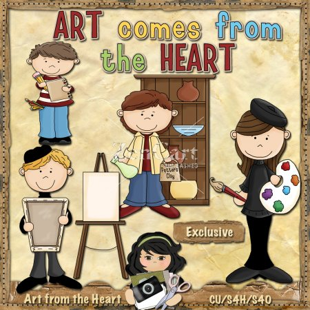 Art Comes from the Heart Exclusive