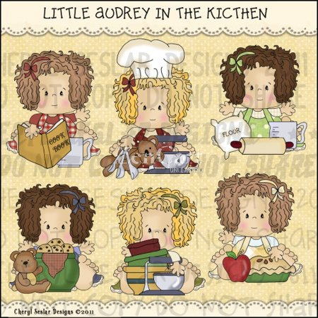 Little Audrey in the Kitchen