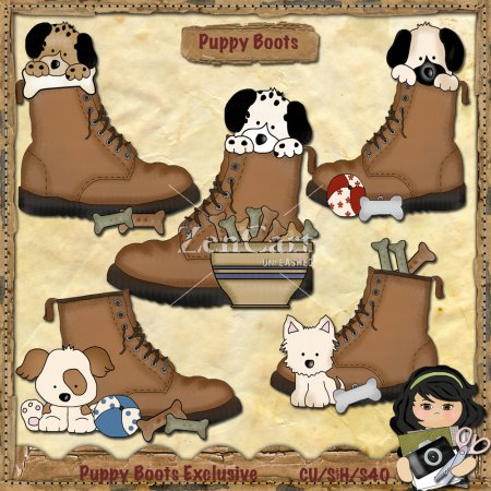 Puppy Boots Exclusive