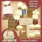 Country Candles 1