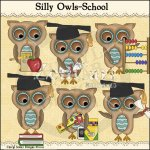 Silly Owls-School
