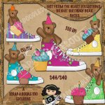 Bright Birthday Bear Shoes Exclusive