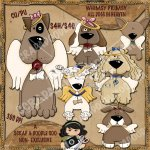 Whimsy Primsy All Dogs in Heaven 1 Limited Edition