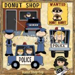 Donut Shop Cop Exclusive