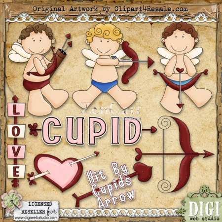 clip art valentines day. Valentines Day Cupid Clip Art.