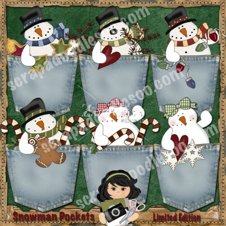 Snowman Pockets Limited Edition