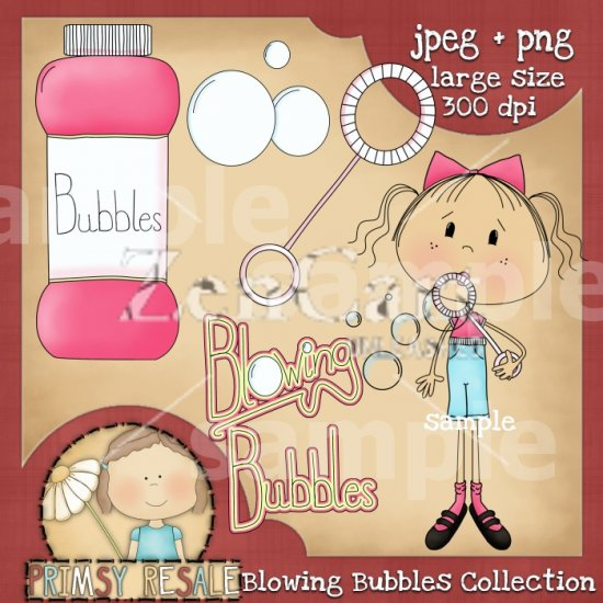 Blowing Bubbles Collection - Click Image to Close