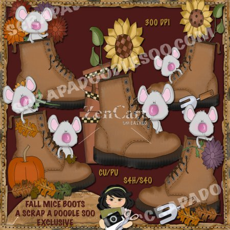 Fall Mice Boots Exclusive