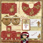 Gingerbread Gift Set 2