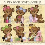 Cloey Bear Loves Makeup Exclusive