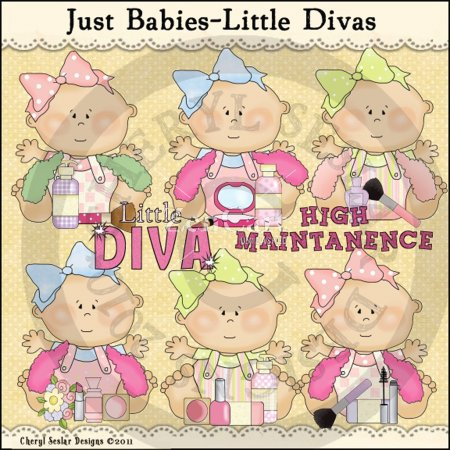 Just Babies Little Divas