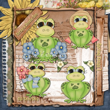 Spring Frogs 1