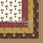 Prims & Crows '10 Exclusive 12x12 Background Papers