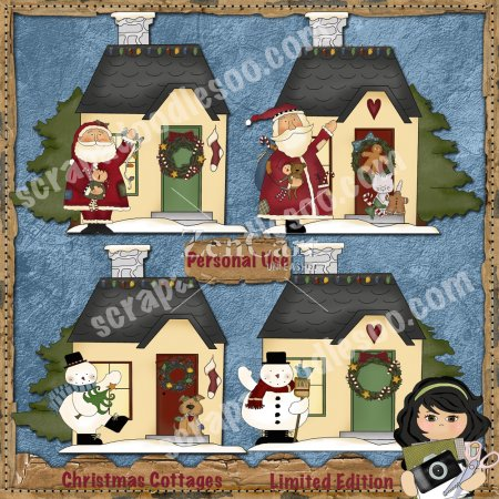 Christmas Cottages Limited Edition