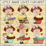 Little Annie Loves Cupcakes