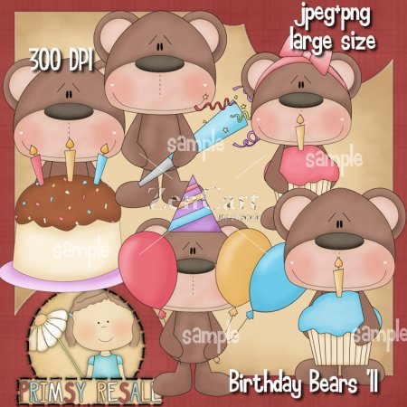 Birthday Bears '11