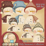Only Snowmen Collection