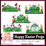 Hoppy Easter Frogs