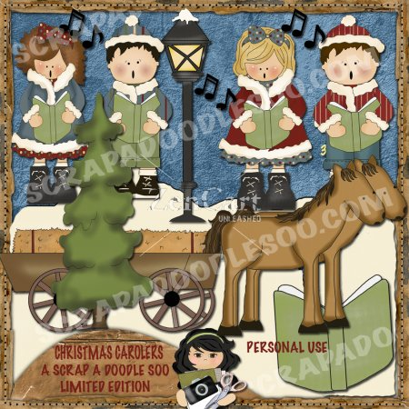Christmas Carolers Limited Edition